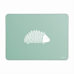 Hedgehog Placemats In Sage - Set of Four - Zed & Co