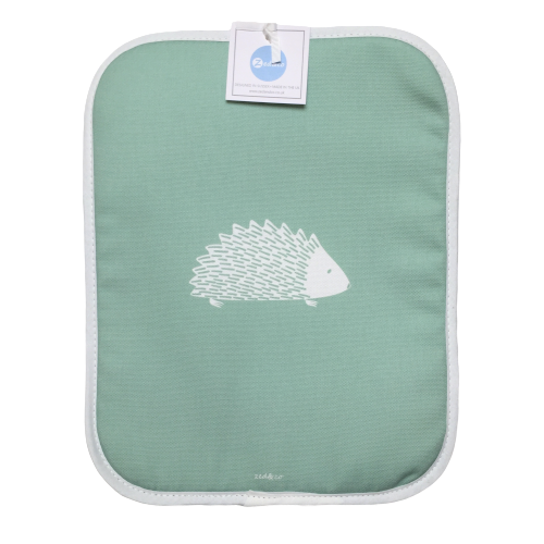 Hedgehog Rayburn Covers In Sage - Pair