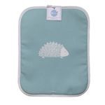 Hedgehog Rayburn Covers In Soft Blue - Pair