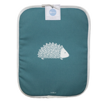 Hedgehog Rayburn Covers In Teal - Pair