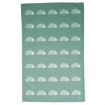 Hedgehog Tea Towel In Sage