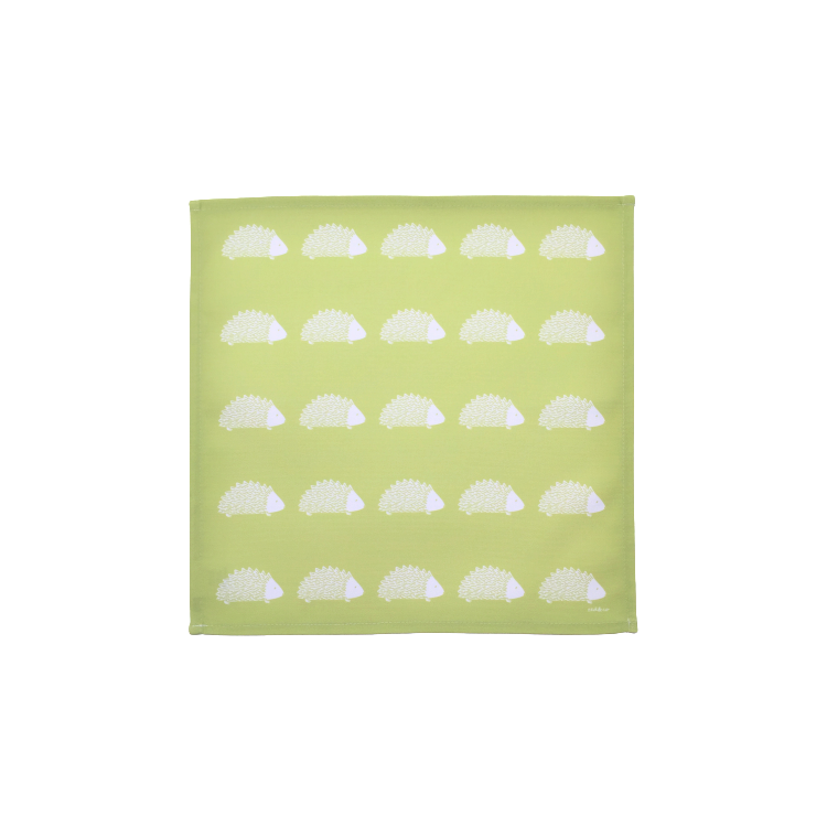 Hedgehog Napkins In Pistachio - Set of Four