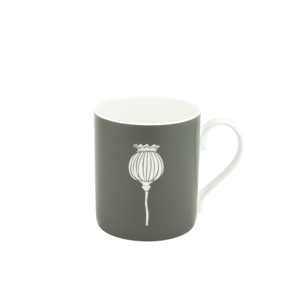 Poppy Mug In Grey