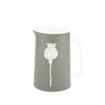 Poppy Jug In Grey - Zed & Co