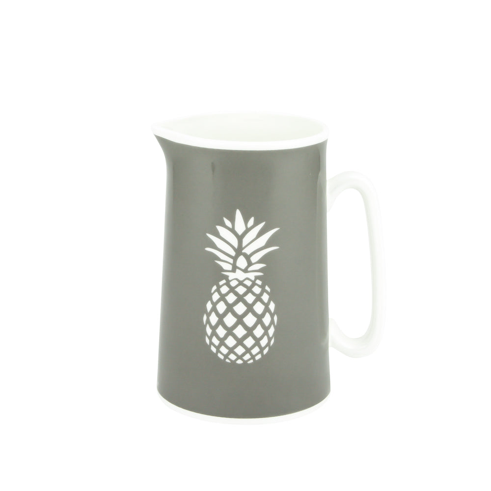 Pineapple Jug In Grey - Zed & Co