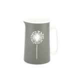 Dandelion Jug In Grey - Zed & Co