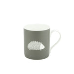 Hedgehog Mug In Grey