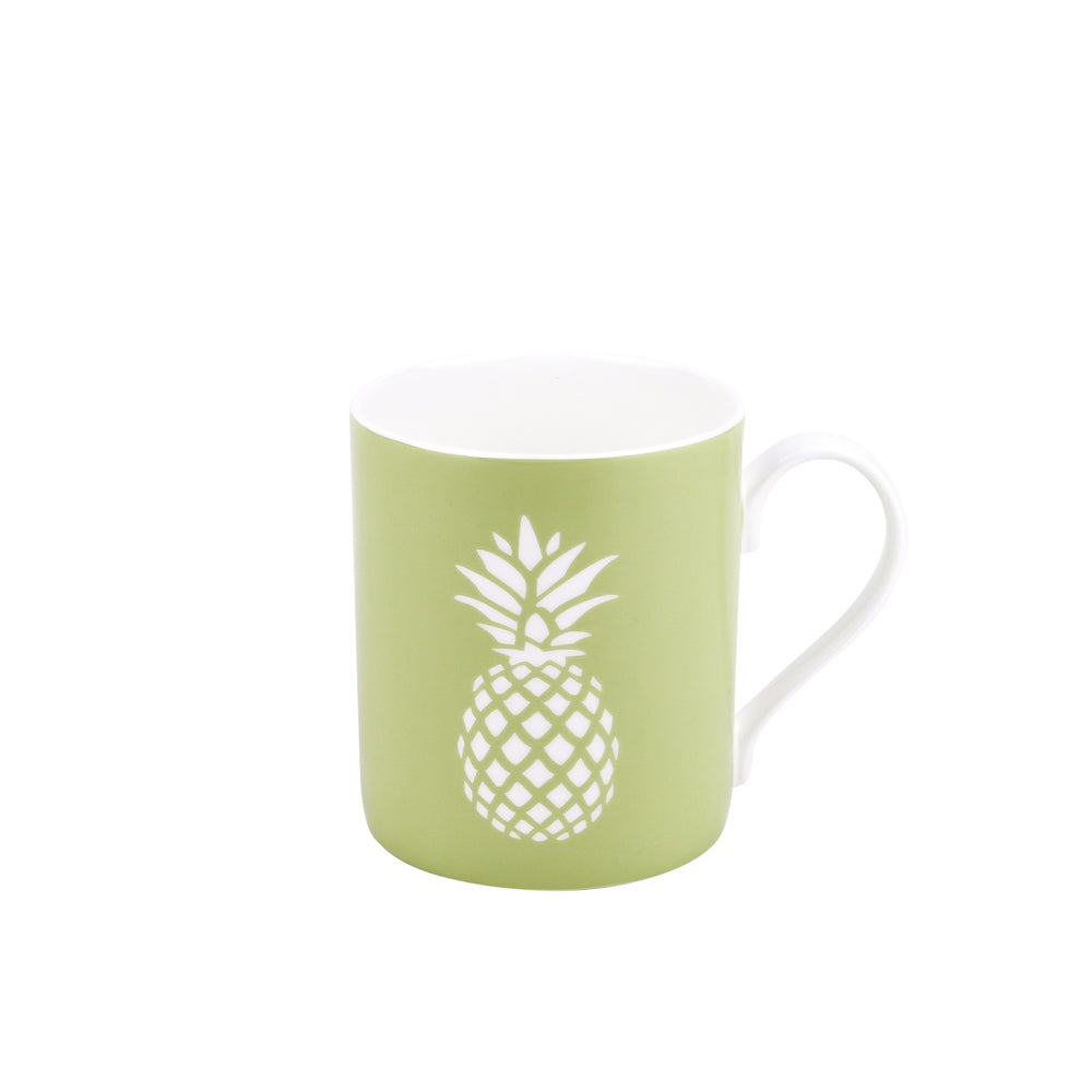 Pineapple Mug In Pistachio - Zed & Co