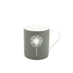 Dandelion Mug In Grey - Zed & Co