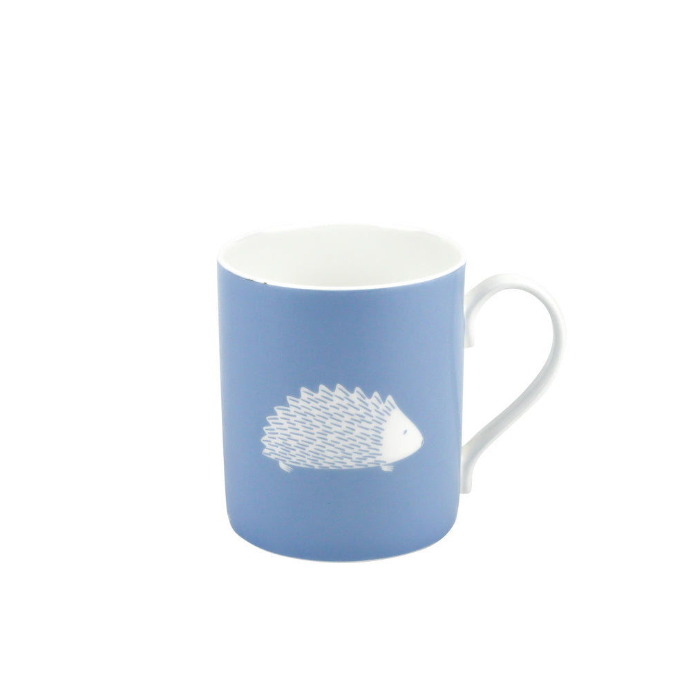 Hedgehog Mug In Bluebell