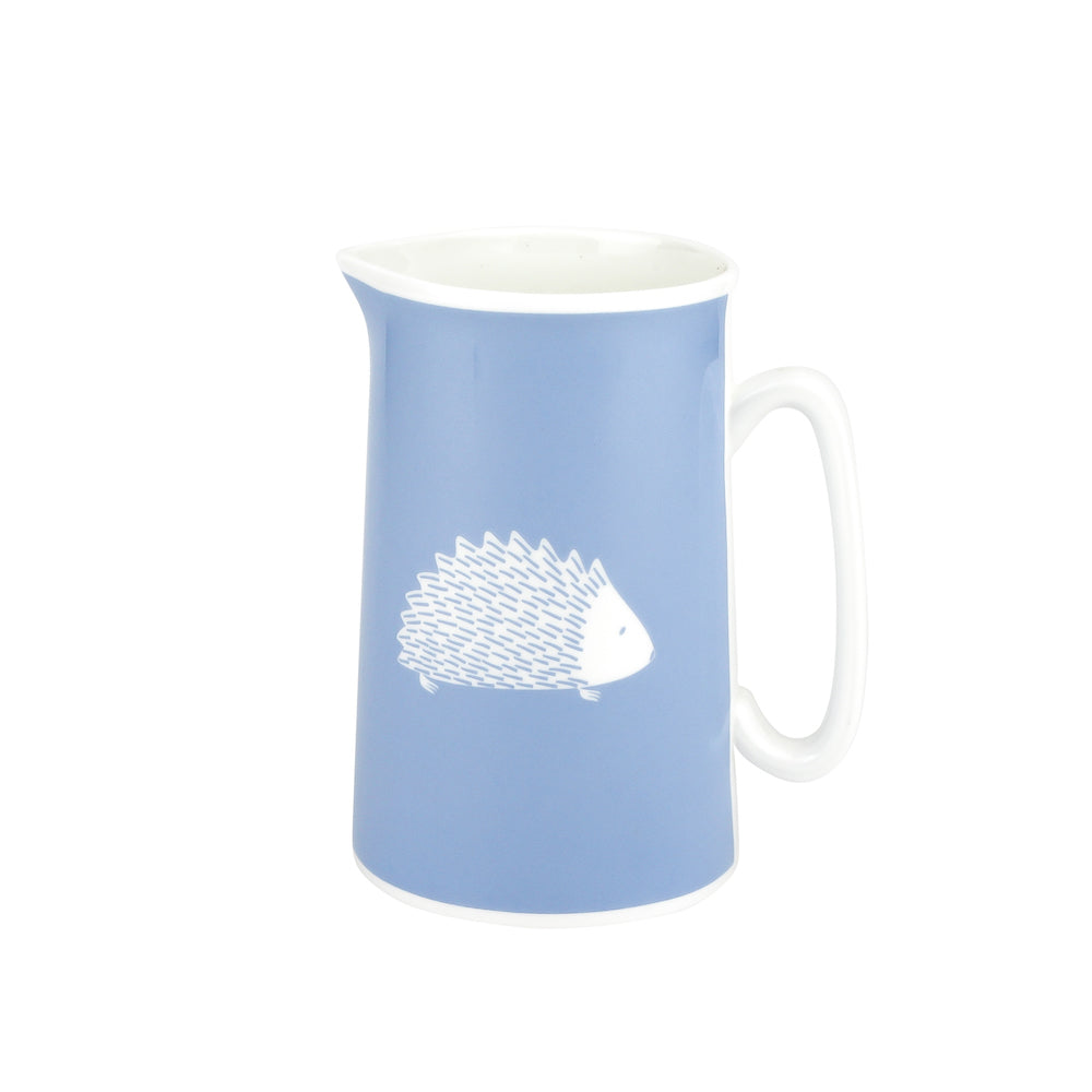 Hedgehog Jug In Bluebell - Zed & Co