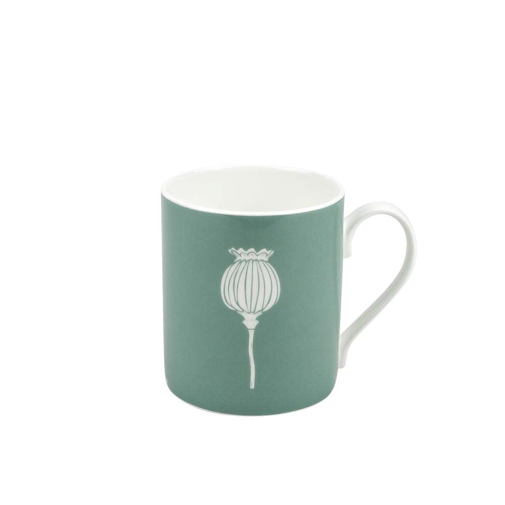 Poppy Mug In Sage - Zed & Co