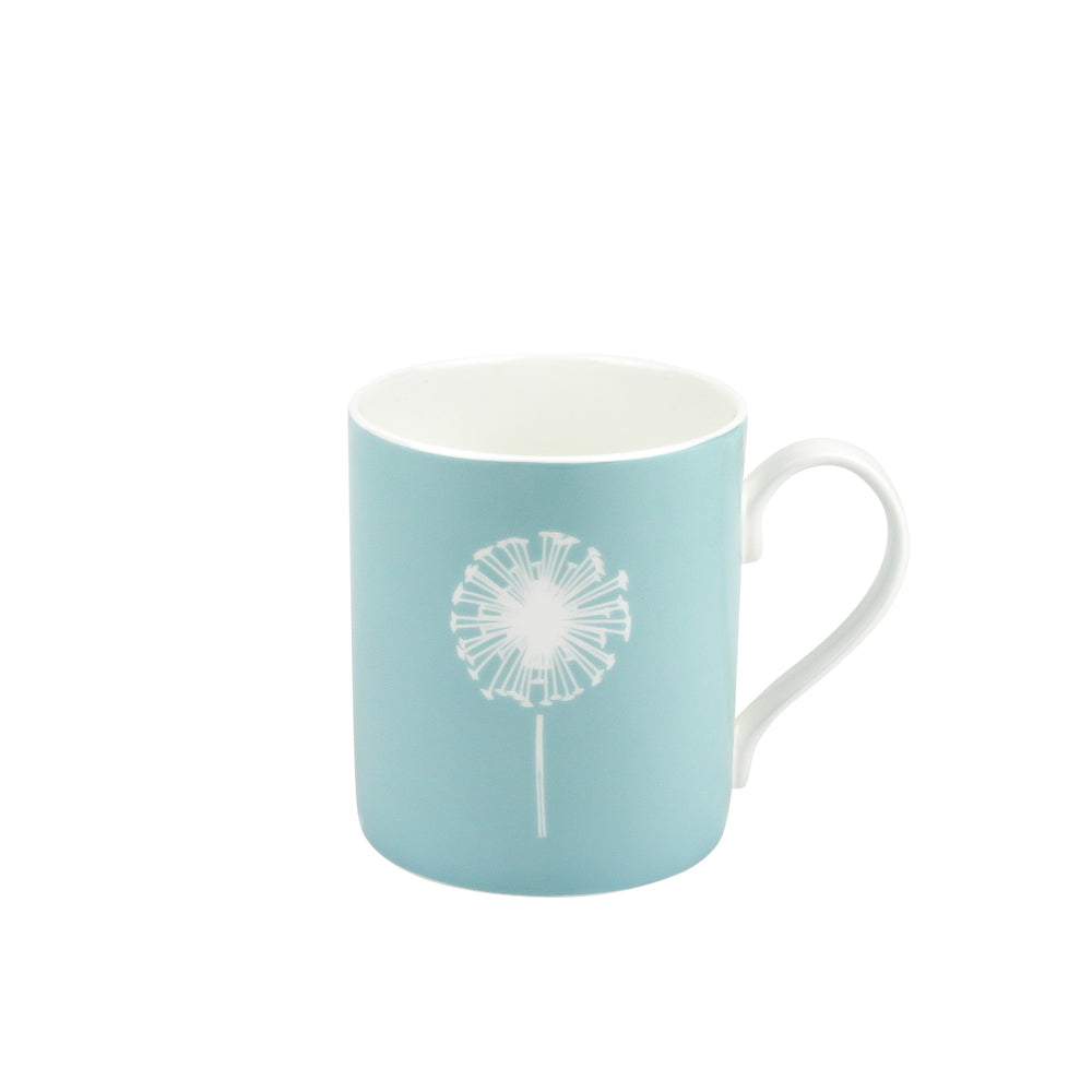 Dandelion Mug In Soft Blue