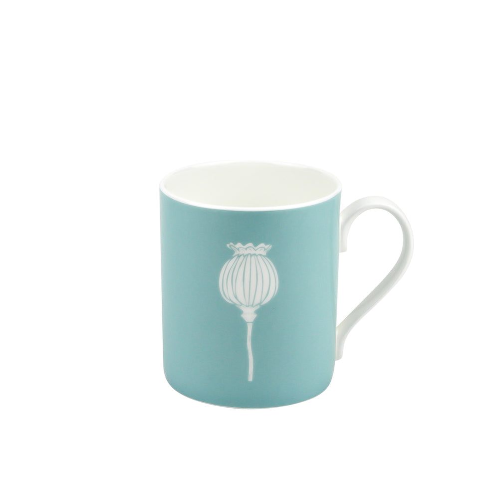 Poppy Mug In Soft Blue