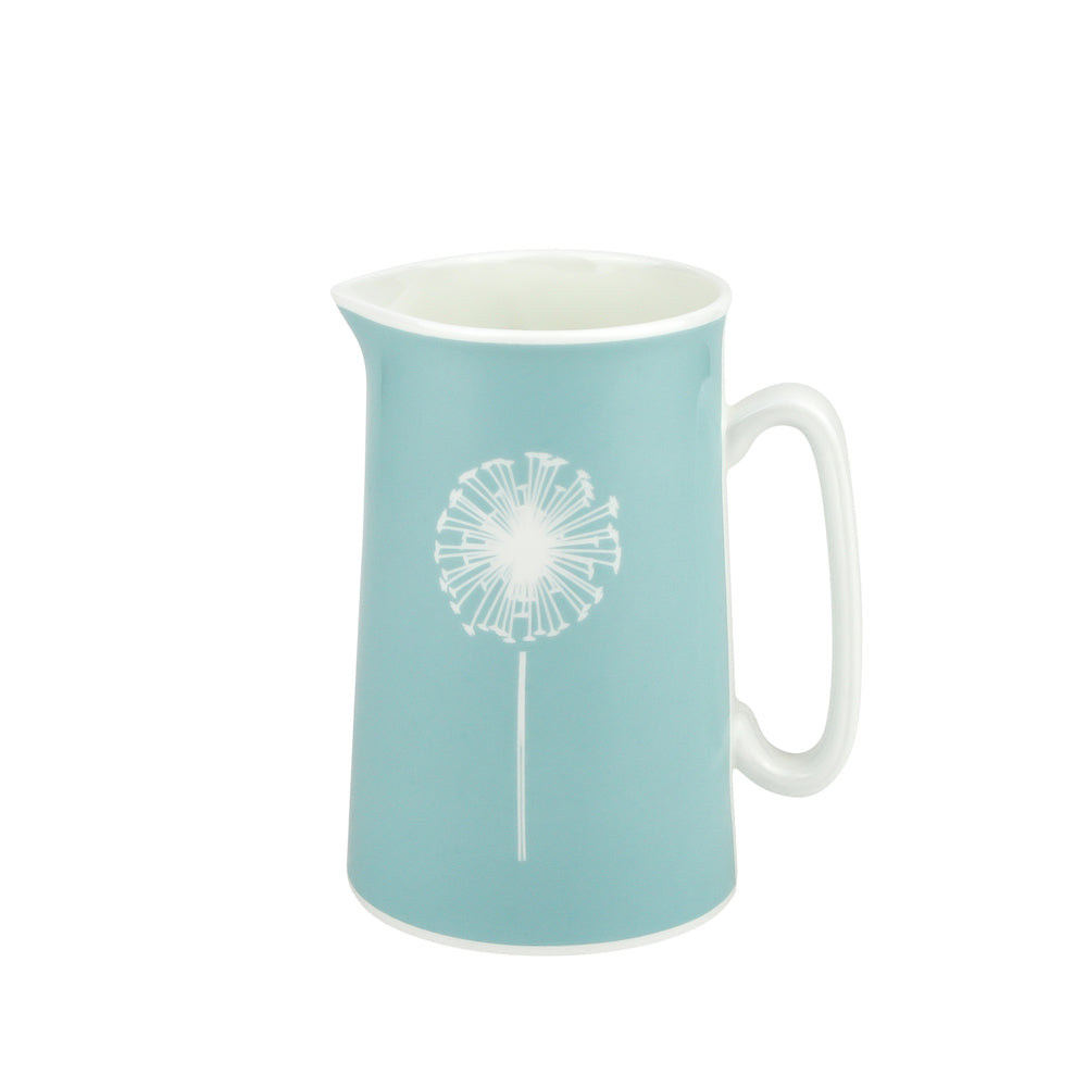 Dandelion Jug In Soft Blue - Zed & Co