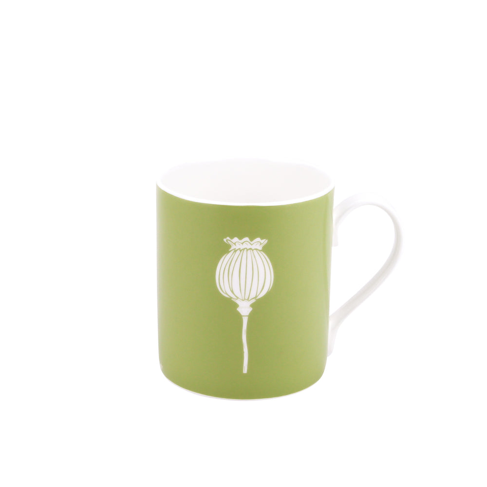 Poppy Mug In Pistachio - Zed & Co