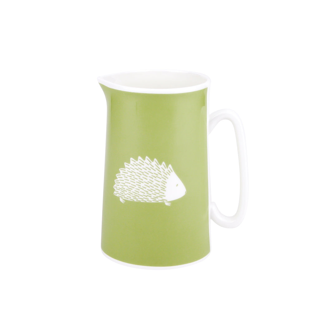 Hedgehog Jug In Pistachio