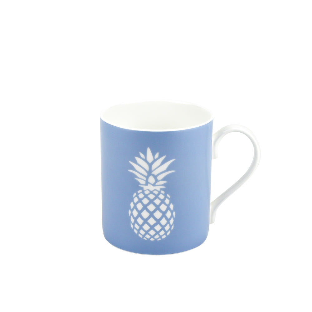 Pineapple Mug In Bluebell - Zed & Co