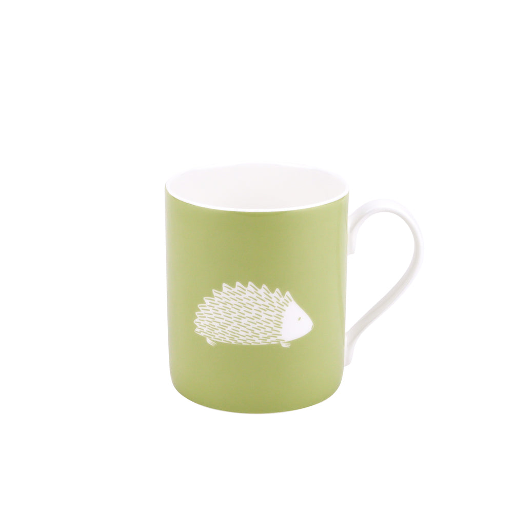 Hedgehog Mug In Pistachio