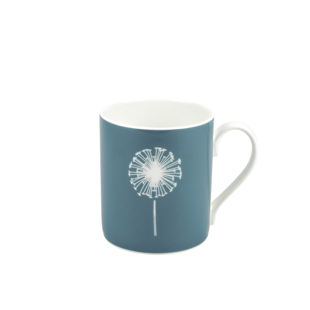 Dandelion Mug In Teal - Zed & Co