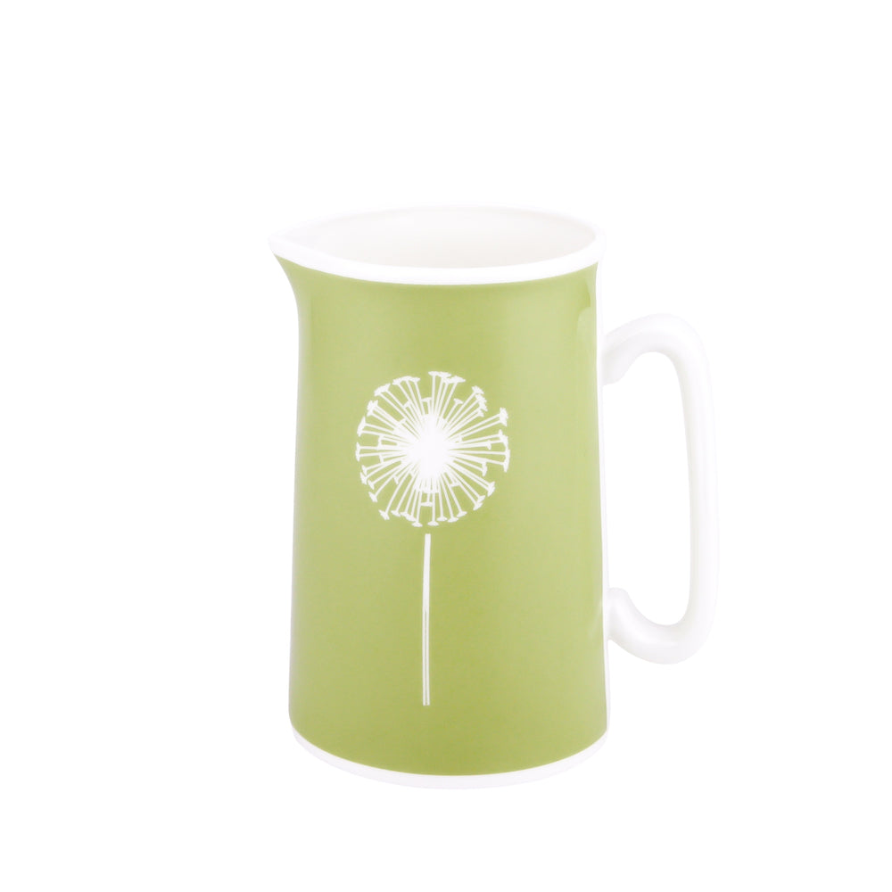 Dandelion Jug In Pistachio - Zed & Co
