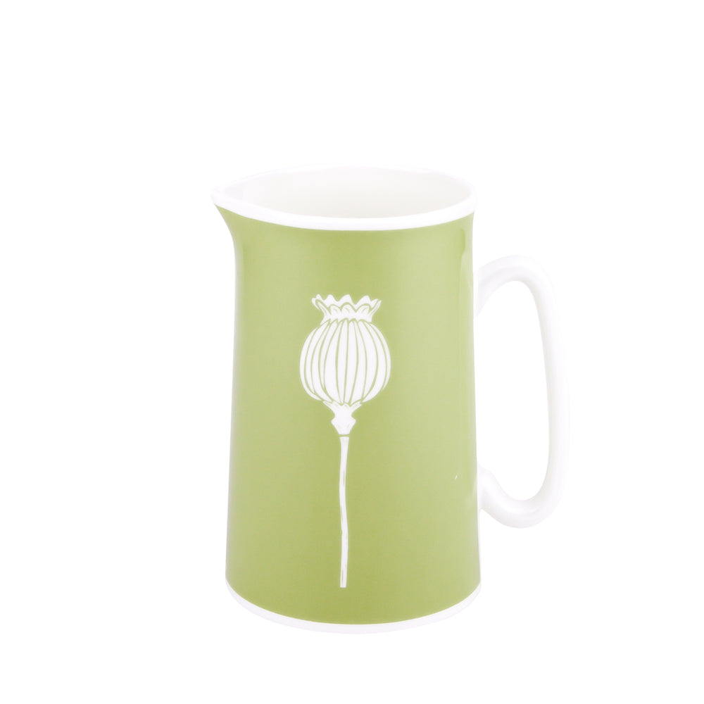 Poppy Jug In Pistachio - Zed & Co