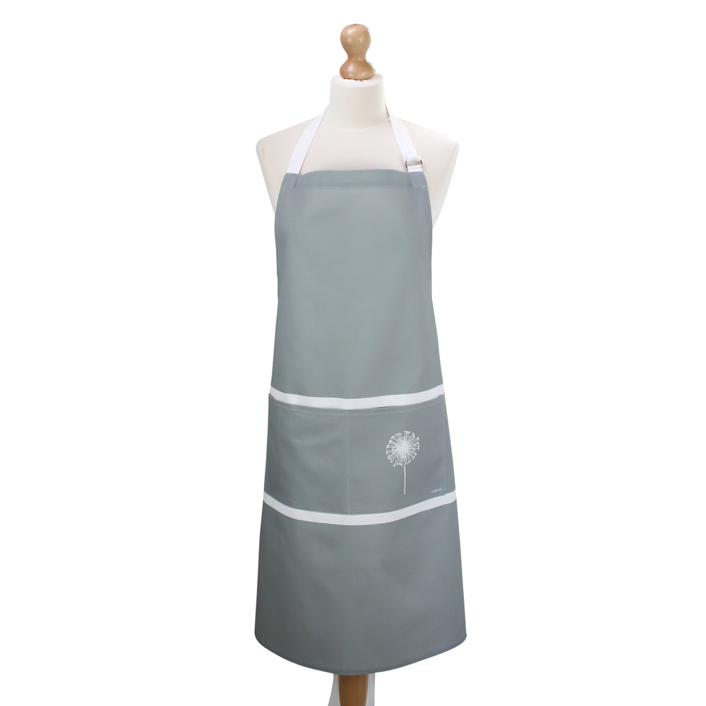 Dandelion Apron In Grey