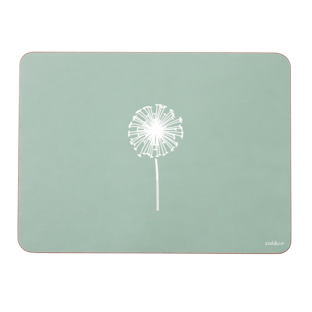 Dandelion Placemats In Sage