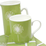 Dandelion Placemats In Pistachio - Set of Four - Zed & Co