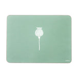 Poppy Placemats In Sage - Set of Four