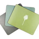 Poppy Placemats In Sage - Set of Four - Zed & Co