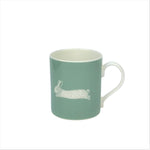 Hare Mug In Sage - Zed & Co