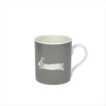 Hare Mug In Grey