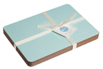 Dandelion Placemats In Aqua - Set of Four