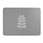 Leaf Stem Placemats In Grey