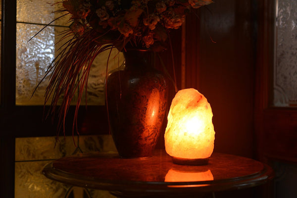Do Salt Lamps Really Produce Negative Ions : 2 Himalayan Rock Salt Lamp Natural Air Purifier Negative Ion Producer Negative Ion Store