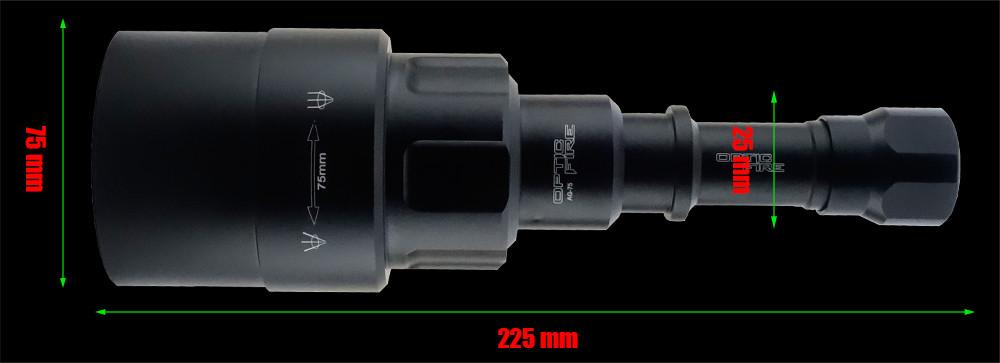 AG-75 (VI) Variable Intensity Torch