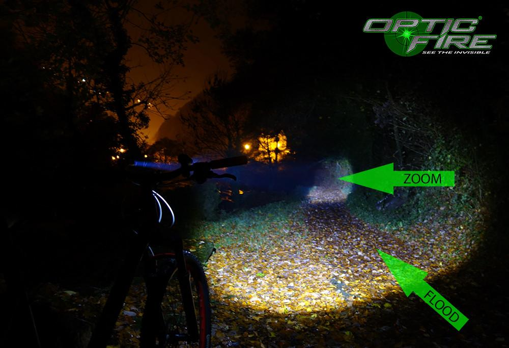 Bike Lights - Micro Q5-ZOOM Bike Light Set