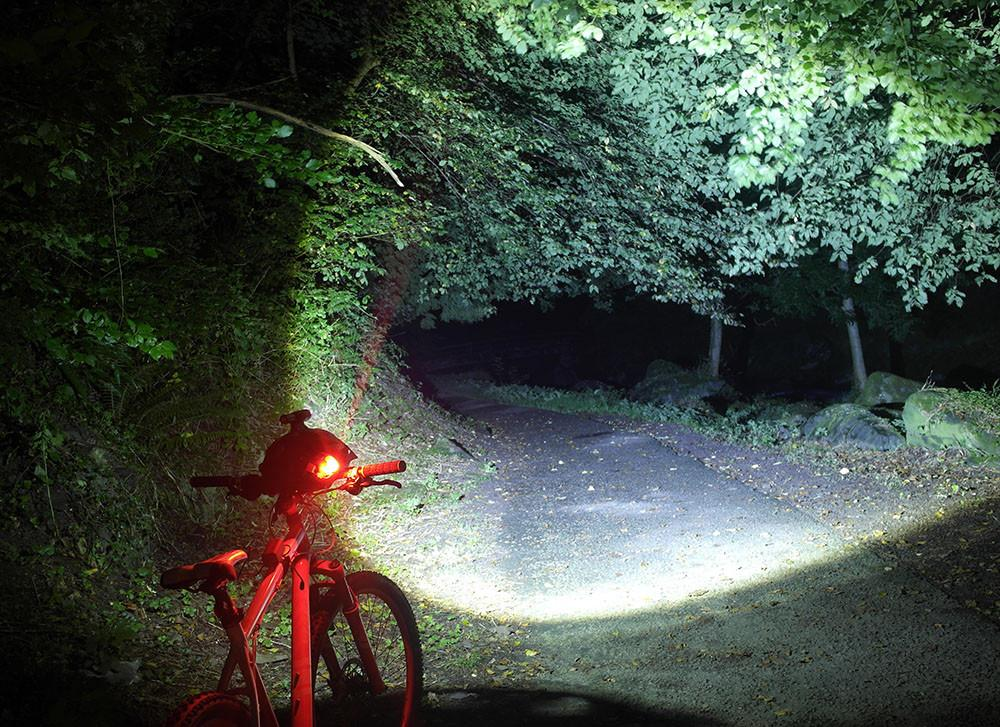 Bike Lights - T6-ZOOM Bike Light Light Set (single)