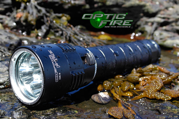 DX-3 Dive light - Opticfire UK LED gun lights  - 1