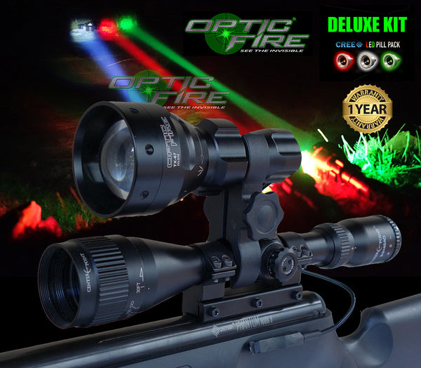 TX-67 mini DELUXE lamping kit - Opticfire UK LED gun lights  - 1