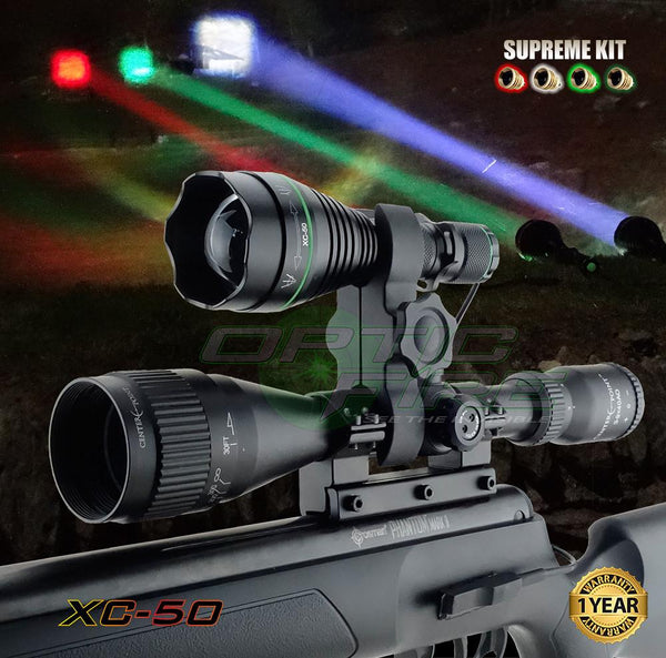 Lamping Kits - XC-50 Supreme Scope Mount Lamping Kit