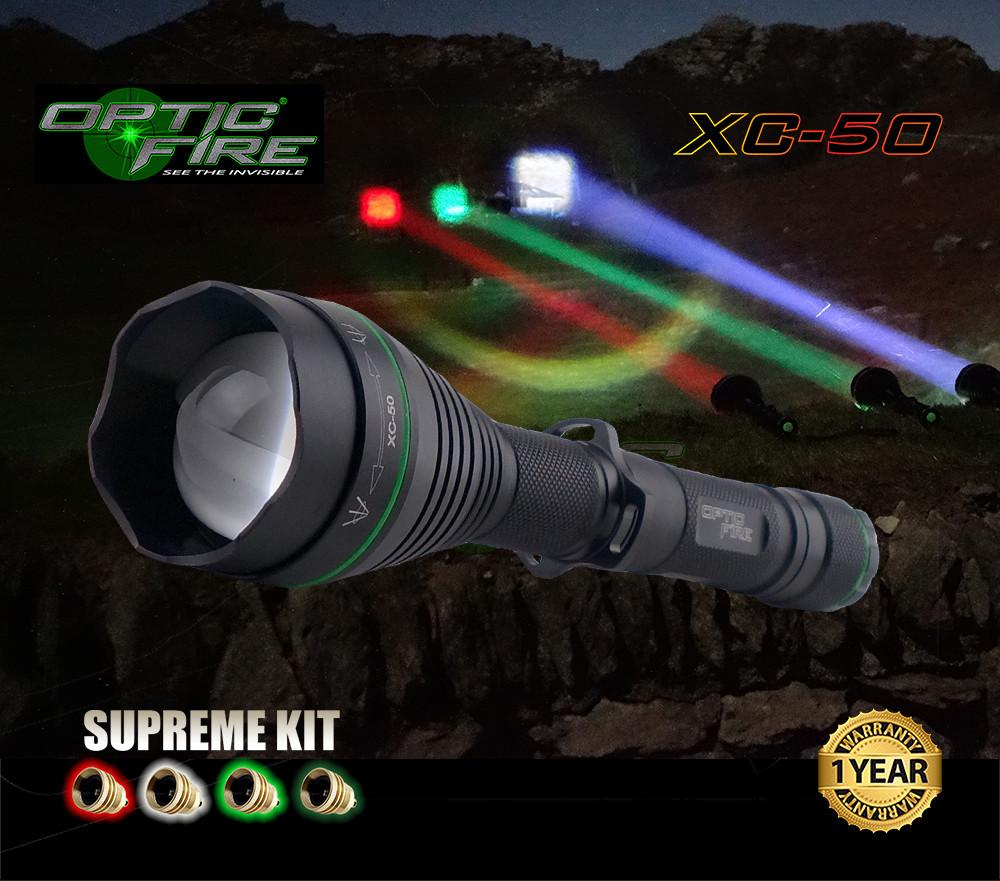 Opticfire 174 X Change Xc 50 Supreme Led Hunting Torch Kit