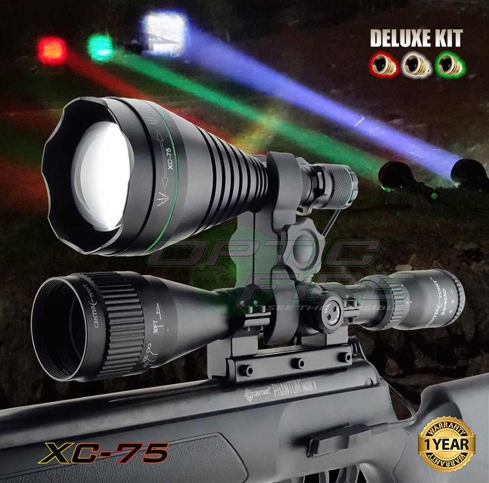 Lamping Kits - XC-75 Deluxe Scope Mount Lamping Kit
