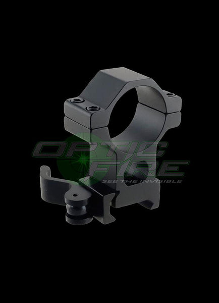 Scope Mounts - Quick Release 25mm - 30mm Weaver Rail Mount