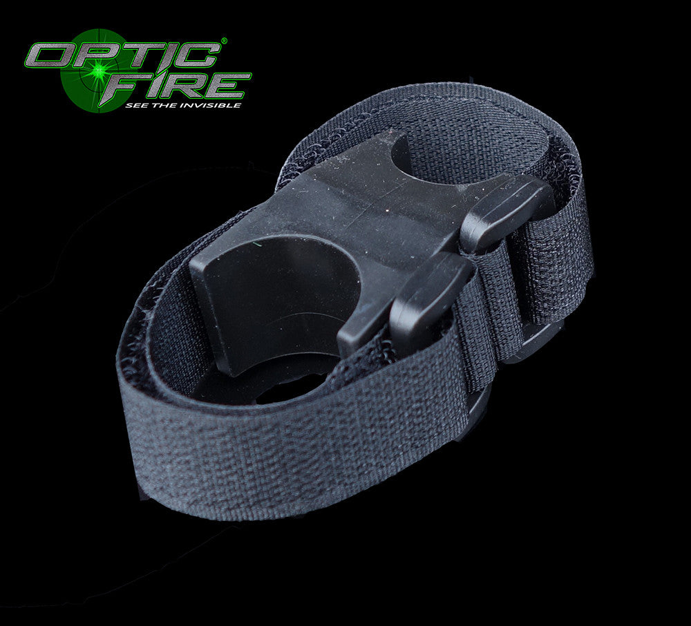 Torch helmet mount - Opticfire UK LED gun lights  - 1