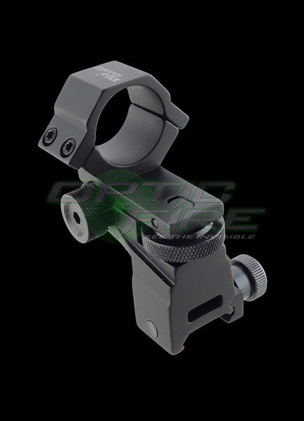 Adjustable windage/elevation weaver rail torch scope mount
