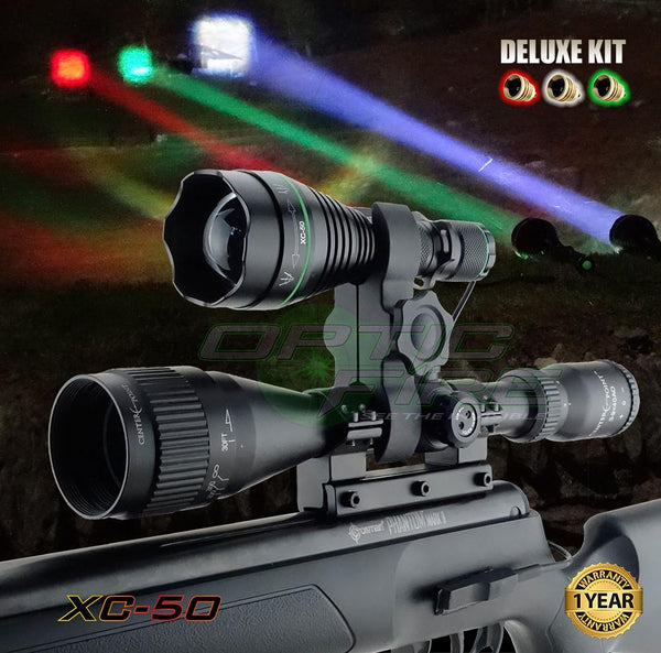 XC-50 Deluxe Scope Mount Lamping Kit