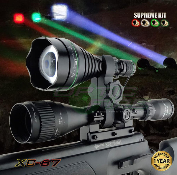 XC-67 Supreme Scope Mount Lamping Kit