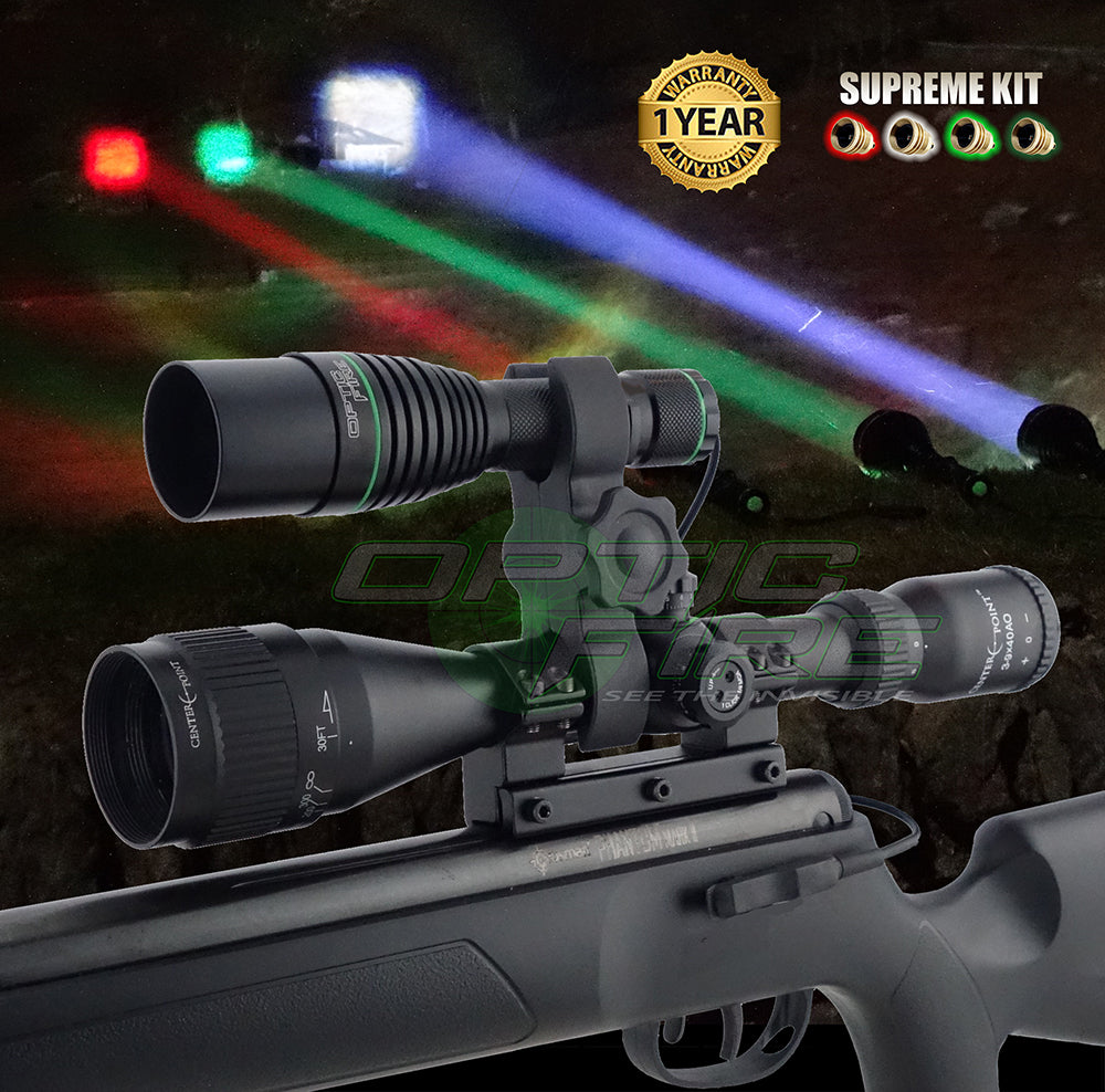 XS-38 Supreme scope mount lamping kit